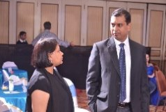 FIIB ED, Mrs. Radhika Srivastava and Faculty Chairperson, Career Management Centre, Prof Jones Mathew.,