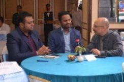 Prof. Arun Sangwan with Industry Experts during Rendezvous 2015,